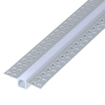 led strip alum profile xc0010 recessed mounting on the wall