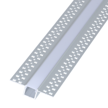 led strip alum profile xc0011 recessed mounting on the wall