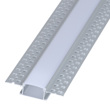 led strip alum profile xc0012 recessed mounting on the wall