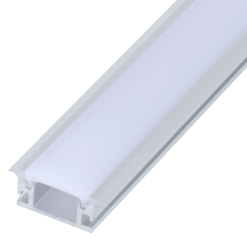 led strip alum profile xc0038 recessed mounting in the ground