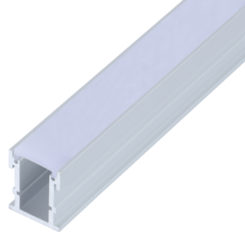 led strip alum profile xc0039 recessed mounting in the ground