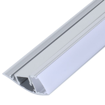 Profilé en alu pour bande led xc0050 Up and downLighting avec driver interne