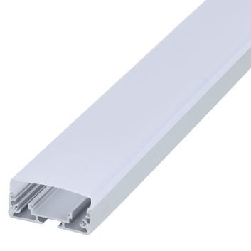 led strip alum profile xc0043 surface mounting at the bottom of wall cupboard