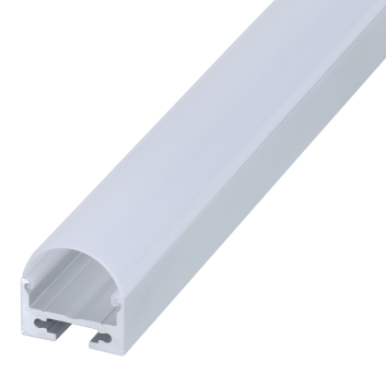 led strip alum profile xc0044 surface mounting at the bottom of wall cupboard