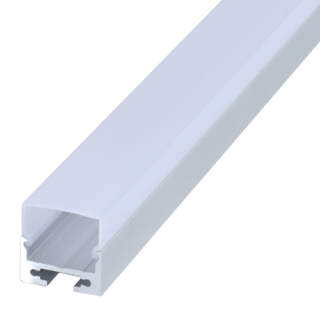 led strip alum profile xc0045 surface mounting at the bottom of wall cupboard