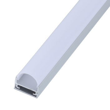 led strip alum profile xc0052 surface mounting on the wall with large beam angle
