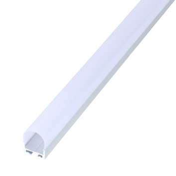 led strip alum profile xc0054 surface mounting on the wall with large beam angle