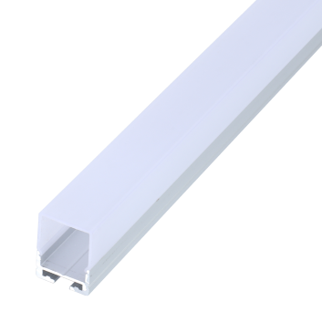 led strip alum profile xc0055 surface mounting on the wall with large beam angle