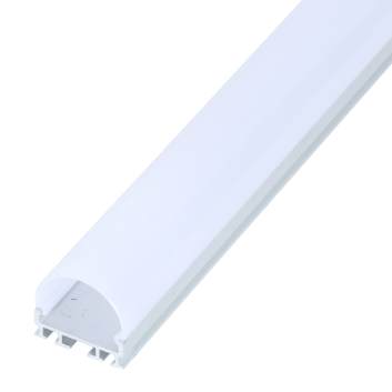 led strip alum profile xc0056 surface mounting on the wall with large beam angle
