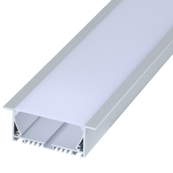 led strip alum profile xc0074  recessed in the ceiling or wall unlinkable