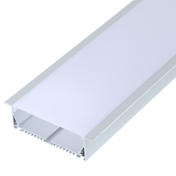 led strip alum profile xc0075  recessed in the ceiling or wall unlinkable