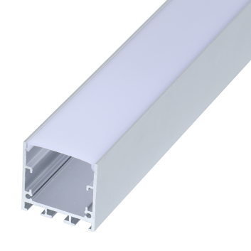led strip alum profile xc0076 low voltage Suspended installation, with external driver linkable