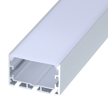 led strip alum profile xc0077 low voltage Suspended installation, with external driver linkable