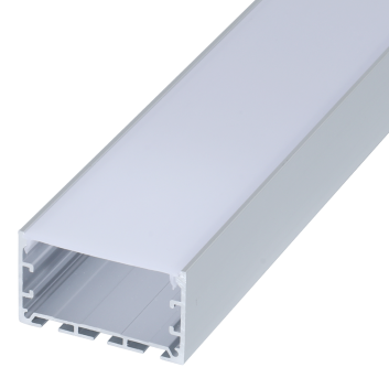 led strip alum profile xc0078 low voltage Suspended installation with external driver linkable