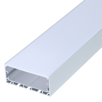 led strip alum profile xc0079 low voltage Suspended installation with external driver linkable