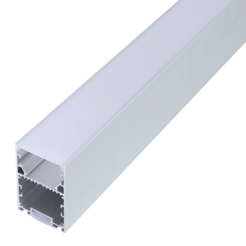 led strip alum profile xc0082 Suspended installation with external driver linkable