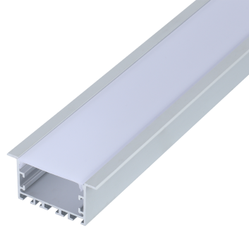 led strip alum profile xc0087 recessed mounting in the ceiling or Wall linkable
