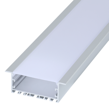 led strip alum profile xc0088 recessed mounting in the ceiling or Wall linkable