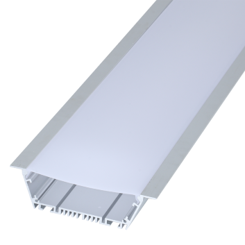 led strip alum profile xc0089 recessed mounting in the ceiling or Wall linkable
