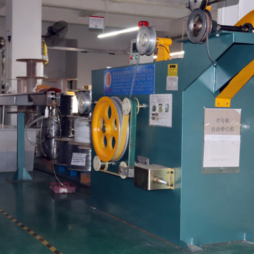 Double color extrusion line