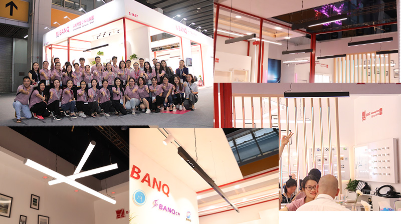 Thanks for visit BANQ booth on 9-12th, June.  Guangzhou International Lighting Exhibition 2018