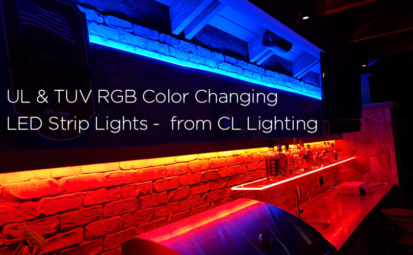 UL& TUV color changing RGB LED strip & neon flex series