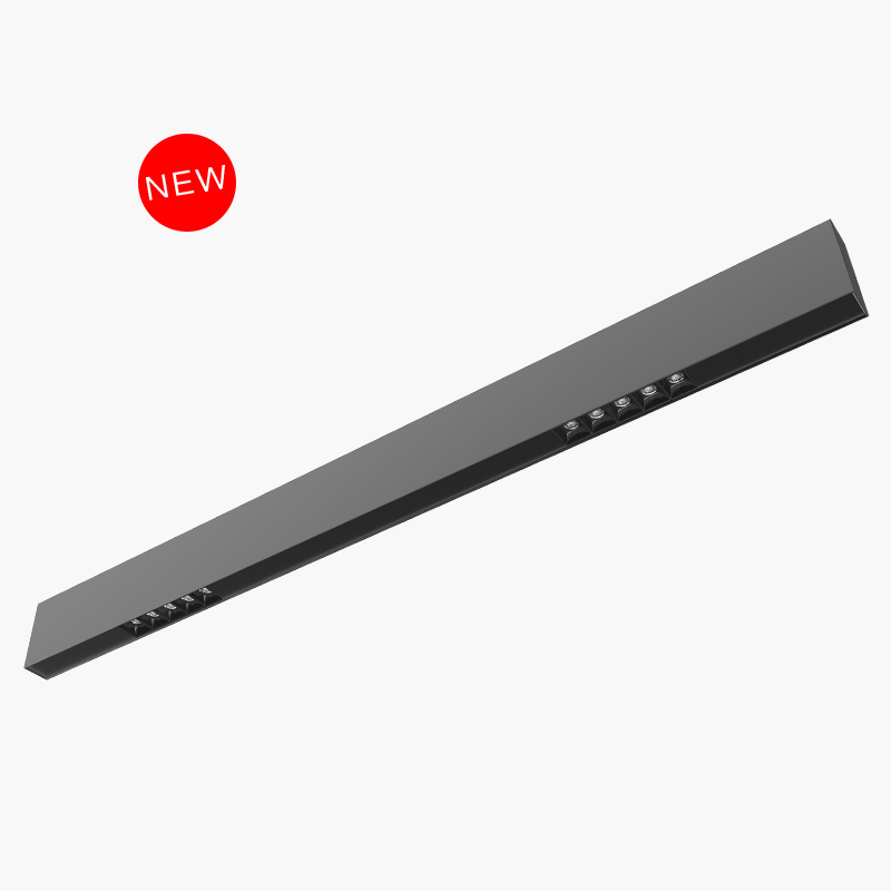 linear light, up PMMA cover and down spot light CH40-10-2C