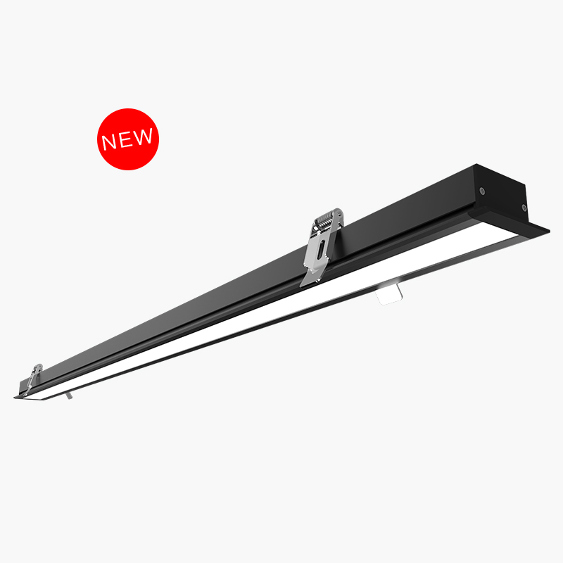 Recessed linear lighting with PMMA cover CK40-10-F