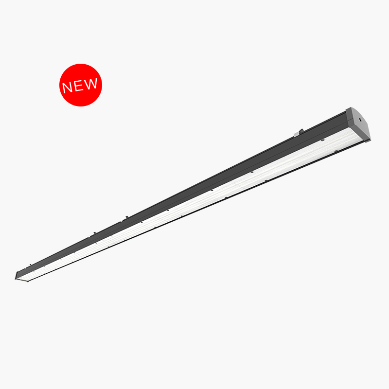 130lm/w LED linear lighting trunking system link-able max length 50 meters