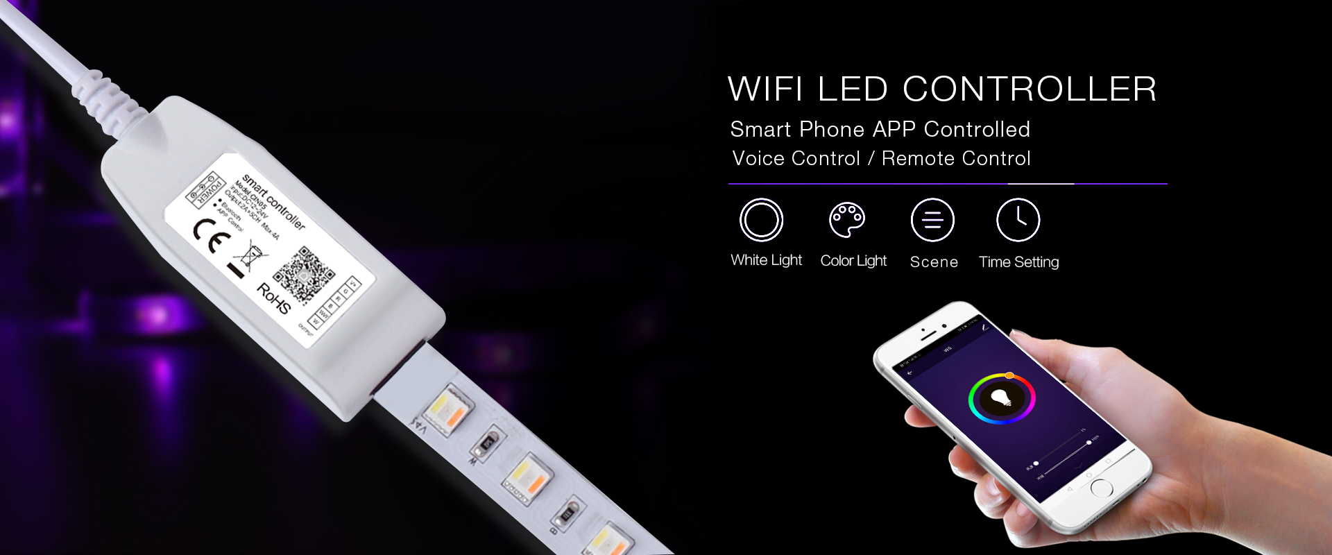 wifi smart led controller