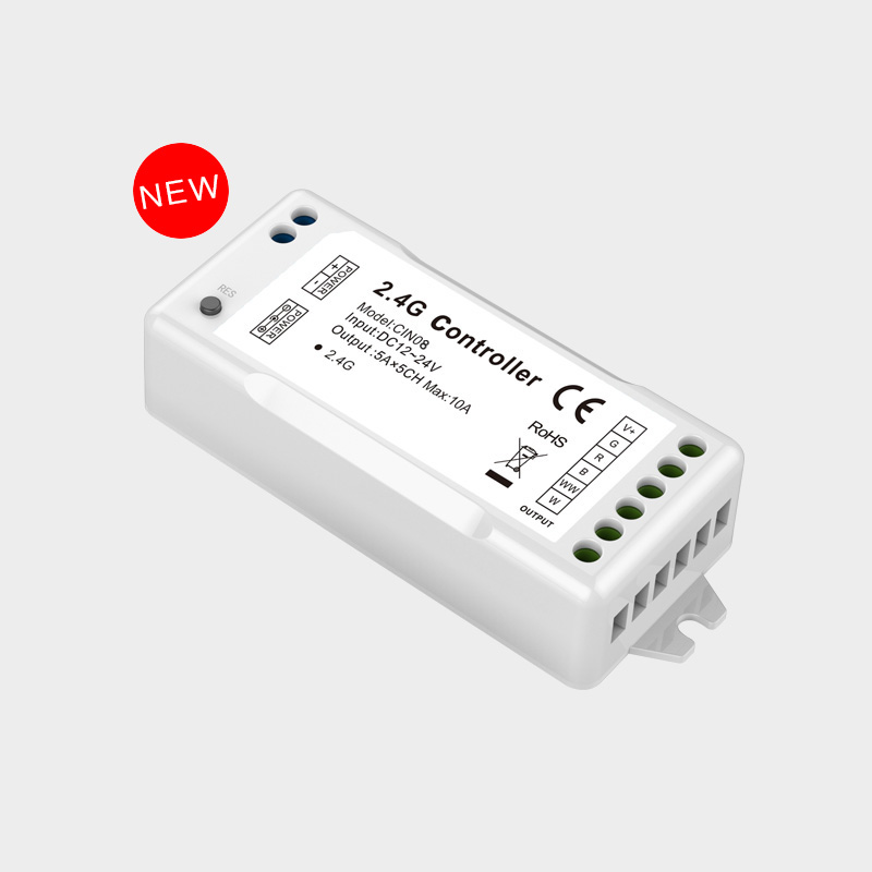 Controlador de LED inteligente inalámbrico 2.4G CL-CIN-08