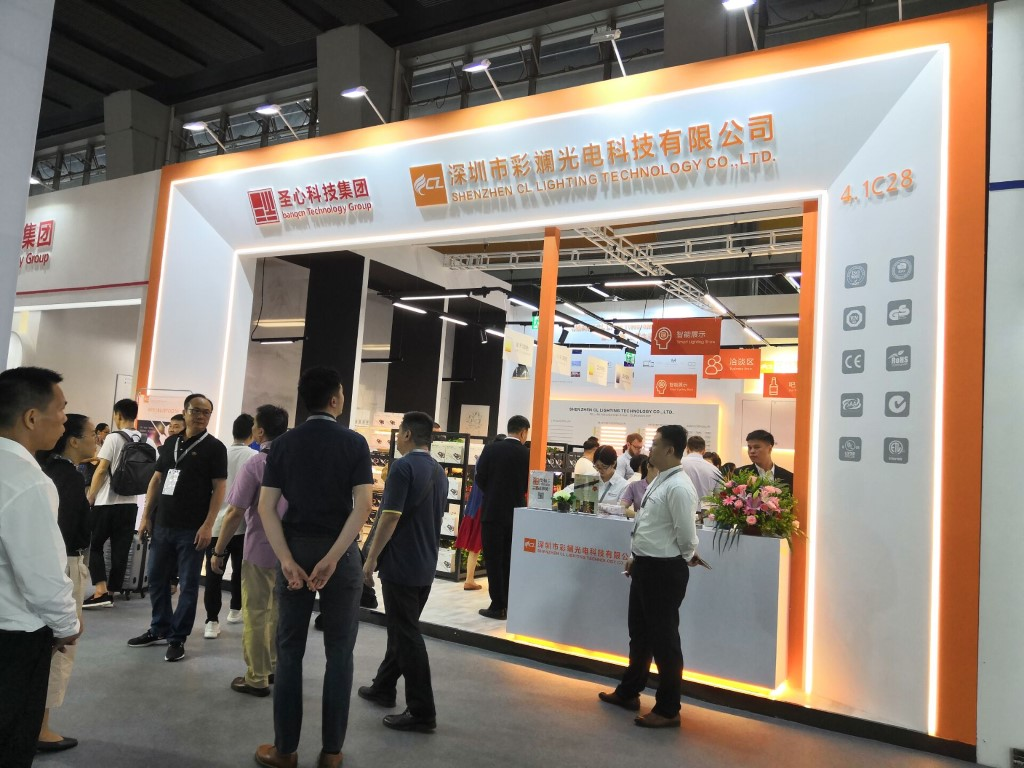 Vida colorida e inteligente - Revisão para 2019 Guangzhou International Lighting Exhibition estande CL LIGHTING