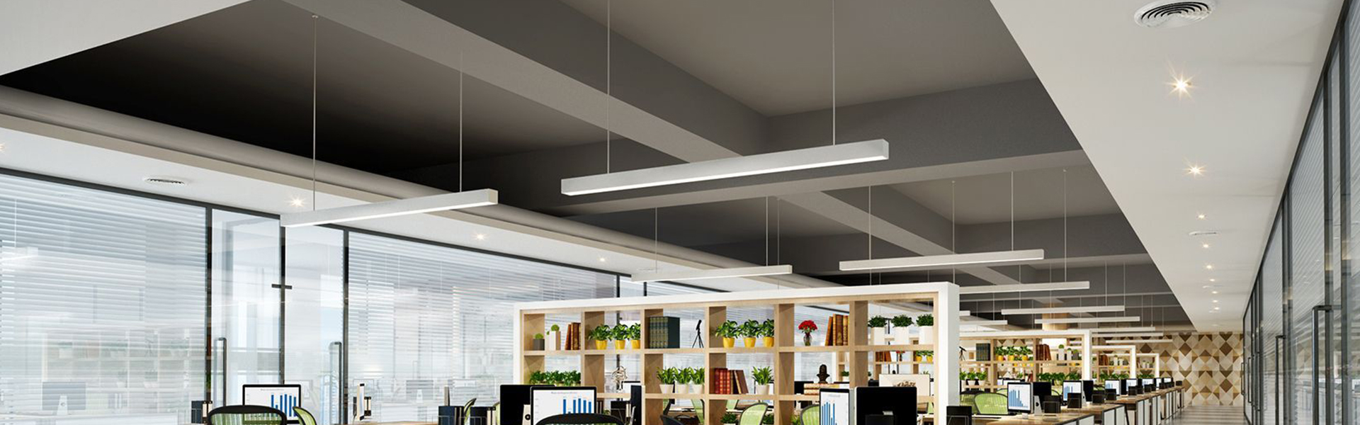 pendant linear lighting