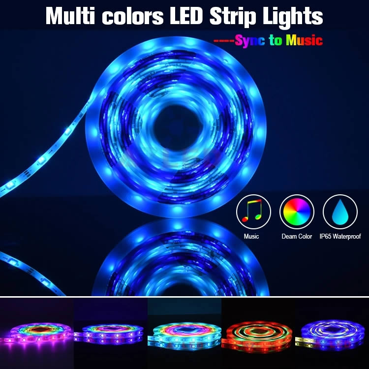 CL Lighting Tuya Smart Digital LED Strip light( Pixel LED Strip)