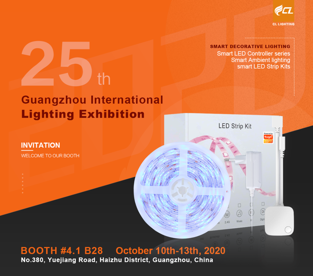 What will be shown during 25th GILE in CL LIGHTING's booth